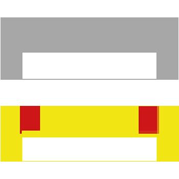 Rohrmarkierungen einfarbig oder zweifarbig zur Selbstbeschriftung