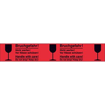 Bruchgefahr | Bänder und Markierungen