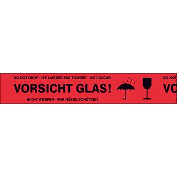 Vorsicht Glas! | Bänder und Markierungen