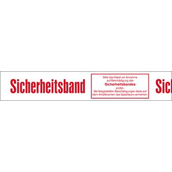 Sicherheitsband (r/w) | Bänder und Markierungen