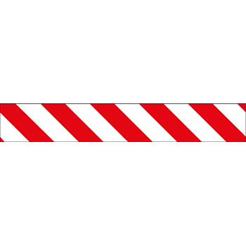 Warnmarkierungsband (r/w) | Bänder und Markierungen