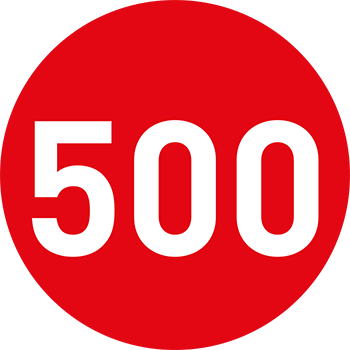 Rot (500-999) | Bedruckte Lageretiketten