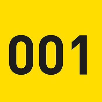 Gelb (1-500) | Bedruckte Lageretiketten