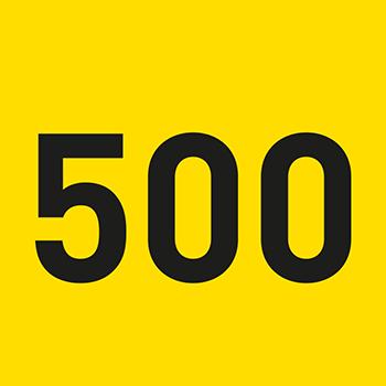 Gelb (500-999) | Bedruckte Lageretiketten