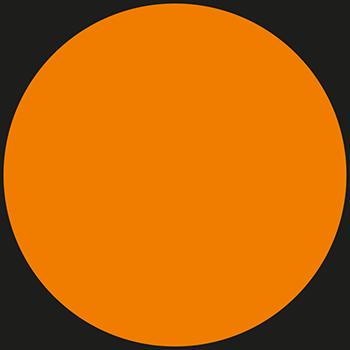 Orange | Bedruckte Lageretiketten