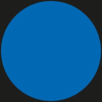 Blau | Bedruckte Lageretiketten