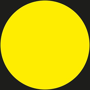 Gelb | Lageretiketten in Leuchtfarben
