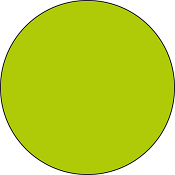 Grün | Lageretiketten in Leuchtfarben