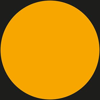 Orange | Lageretiketten in Leuchtfarben