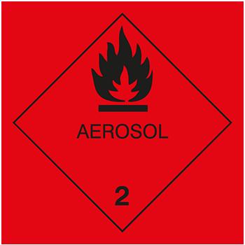 Aerosol | Gefahrgutetiketten