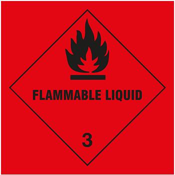 Flammable Liquid | Gefahrgutetiketten