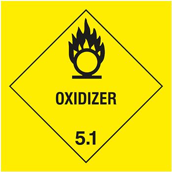 Oxidizer | Gefahrgutetiketten