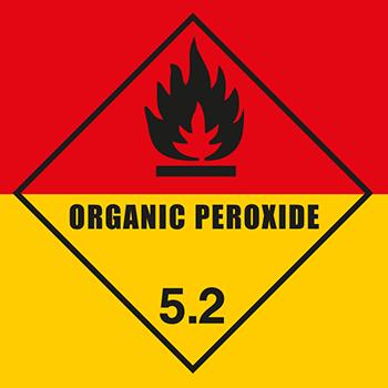 Organic Peroxide | Gefahrgutetiketten
