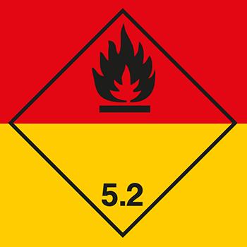 Organische Peroxide | Gefahrgutetiketten