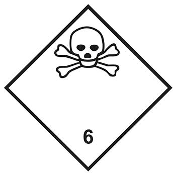 Giftige Stoffe | Gefahrgutetiketten