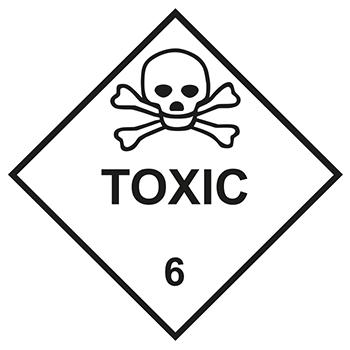 Toxic | Gefahrgutetiketten
