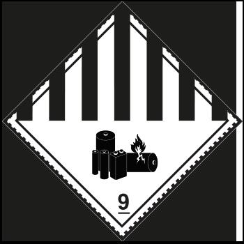 Verschieden gefährliche Stoffe | Gefahrgutetiketten