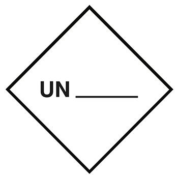 UN zur Selbstbeschriftung | Gefahrgutetiketten