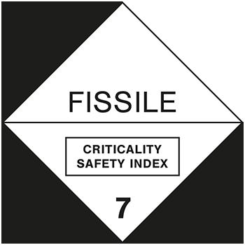 Fissile | Gefahrgutetiketten