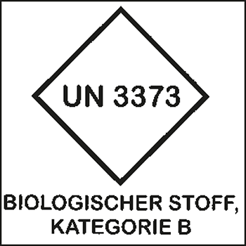 Biologischer Stoff | Gefahrgutetiketten