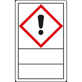 Ausrufezeichen | Gefahrstoffetiketten