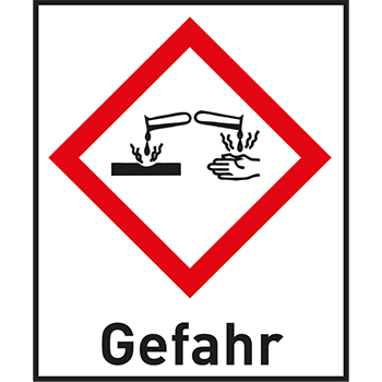 Ätzwirkung | Gefahrstoffetiketten