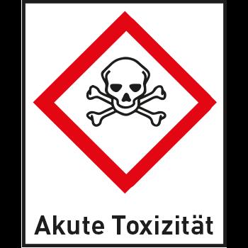 Akute Toxizität | Gefahrstoffetiketten