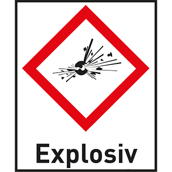 Explosiv | Gefahrstoffetiketten