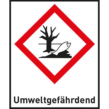 Umweltgefährdend | Gefahrstoffetiketten