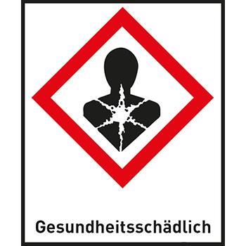 Gesundheitsschädlich | Gefahrstoffetiketten