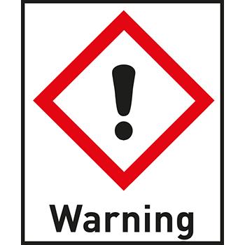 Warning | Gefahrstoffetiketten