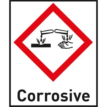 Corrosive | Gefahrstoffetiketten