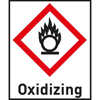 Oxidizing | Gefahrstoffetiketten