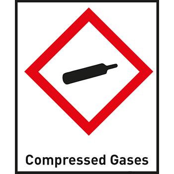 Compressed Gases | Gefahrstoffetiketten