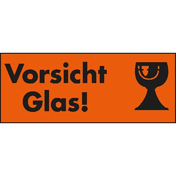 Vorsicht Glas | Hinweisetiketten