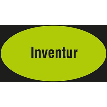 Inventur | Hinweisetiketten