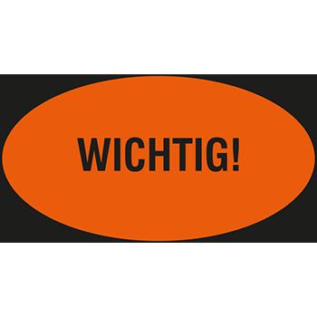 WICHTIG! | Hinweisetiketten