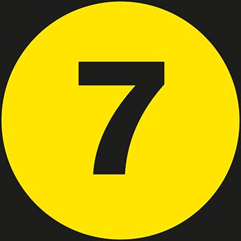7 | Lageretiketten