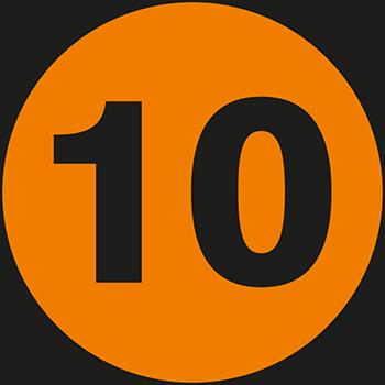 10 | Lageretiketten