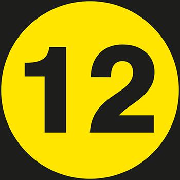12 | Lageretiketten