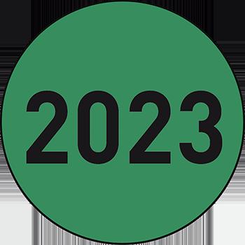 2023 | Lageretiketten