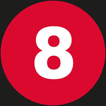 8 | Lageretiketten