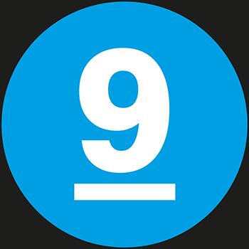 9 | Lageretiketten