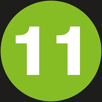 11 | Lageretiketten