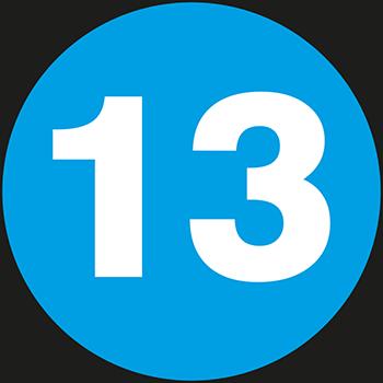 13 | Lageretiketten