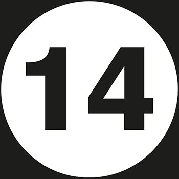 14 | Lageretiketten