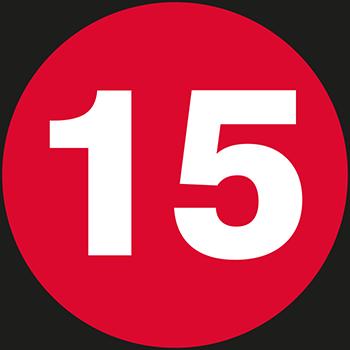 15 | Lageretiketten