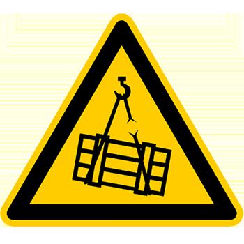 Schwebende Last | Piktogramme und Sicherheitsschilder