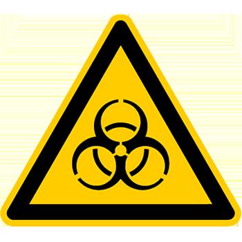 Biogefährdung | Piktogramme und Sicherheitsschilder