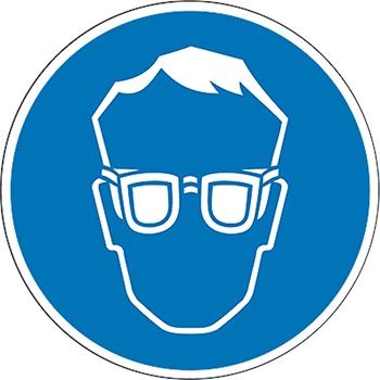 Augenschutz | Piktogramme und Sicherheitsschilder